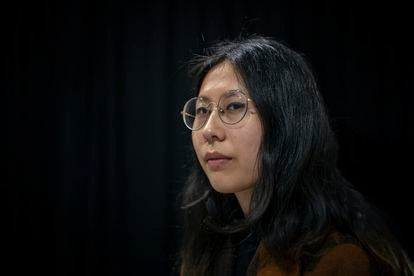 The poet Paloma Chen in March of this year at the Valencian bookstore United Minds.