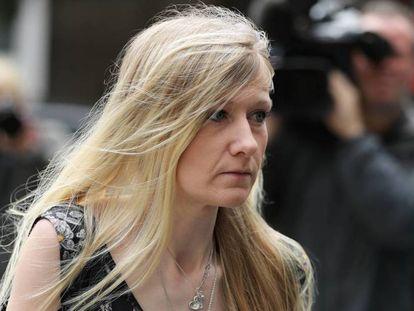 Connie Yates, madre de Charlie Gard, este viernes en Londres. Dan Kitwood Getty Images