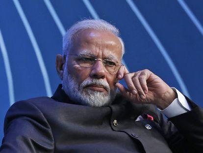 El primer ministro de la India, Narendra Modi, en una imagen de archivo.