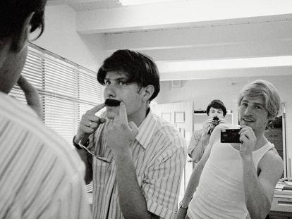 Mike Diamond, Spike Jonze y Adam Yauch, en el documental 'Beastie Boys Story'.