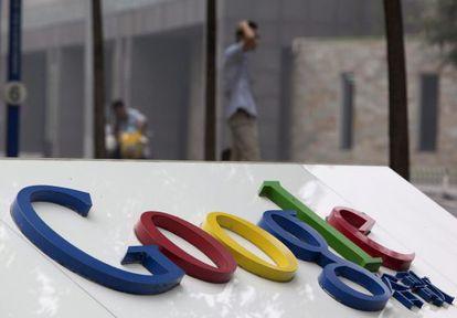 Vista del logo de Google.