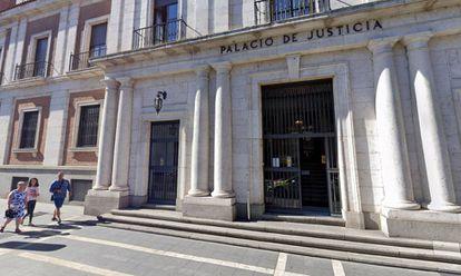 La fachada de la Audiencia Provincial de Valladolid.  MAPAS DE GOOGLE