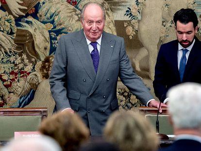 El rey Juan Carlos I, en una imagen tomada en diciembre de 2018.