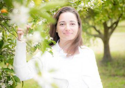 Marie Salamagne, una de las tres narices implicadas en la creación del perfume Eau de Vie.