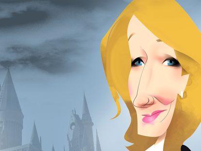 J. K. Rowling, la aprendiz de maga ahora cuestiona el género de las personas 'trans'
