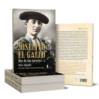 Portada de la reeditada biografía de Joselito el Gallo.