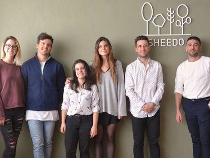 Equipo de la compañía madrileña Sheedo