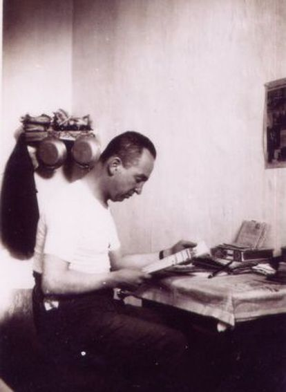 Rodríguez en la cárcel Modelo en 1932.