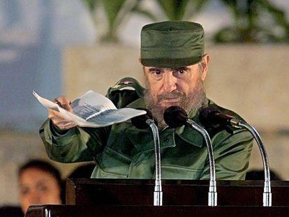 Fidel Castro, en La Habana en 1999.
