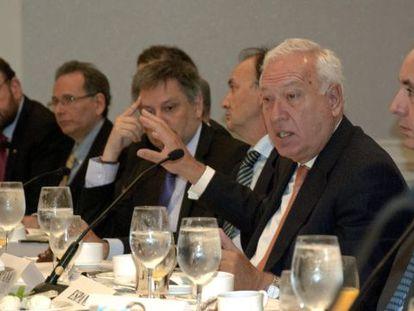 García-Margallo, hoy con los cancilleres iberoamericanos.