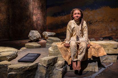 Exposición sobre neandertales en el museo de Moesgaard, en Dinamarca. Moesgaard Museum / Neanderthal Exhibition 2020-21