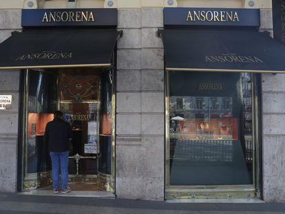 La Casa de subastas Ansorena, en Madrid.