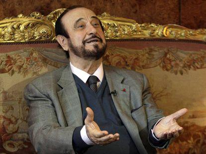 Rifaat el Asad en París en 2011.