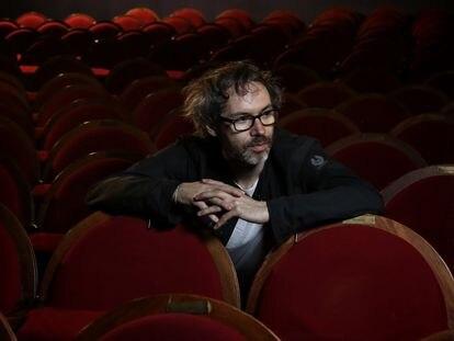 El músico y activista James Rhodes en el Teatro Pavón de Madrid en mayo de 2018.