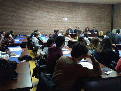 Imagen de un curso de la Facultad de Farmacia salmantina.