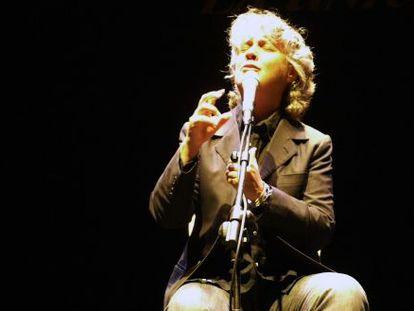 Mayte Martin en el Festival de Cante de las Minas de 2010.