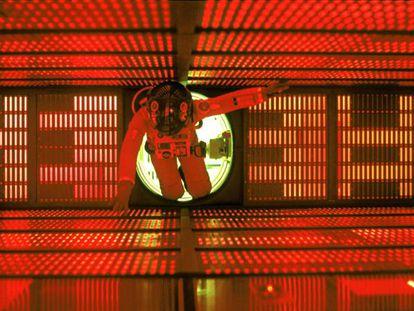 Fotograma de '2001, una odisea del espacio', de Stanley Kubrick.