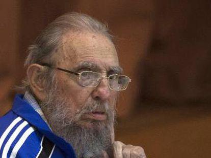 Fidel Castro, el pasado martes.