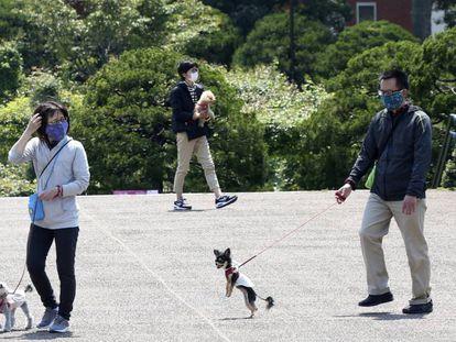 Yokohama, cerca de Tokyo, el pasado 29 de abril en pleno estado de emergencia en todo Japón.