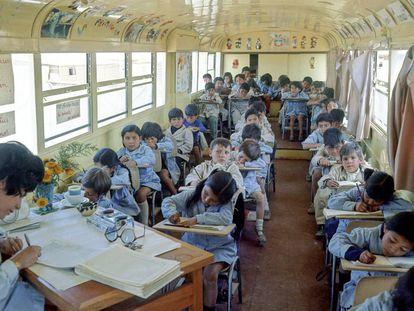Un colegio de Santiago (Chile).