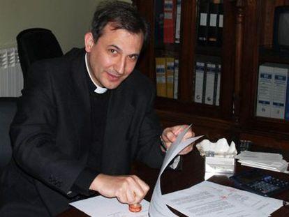 El sacerdote Lucio Vallejo Balda en una imagen de archivo.
