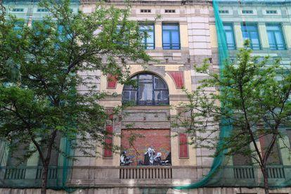 Edificio que acogerá La Casa de les Lletres de Barcelona.