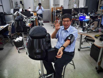 Ninja, el robot tailandés que monitoriza frente al coronavirus