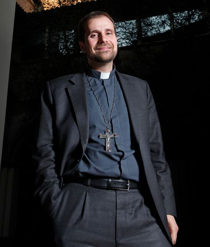 El obispo emérito de Solsona, Xavier Novell, en 2012.