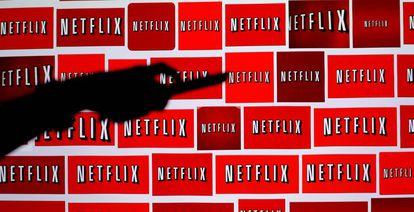 Ilustración con el logo de Netflix
