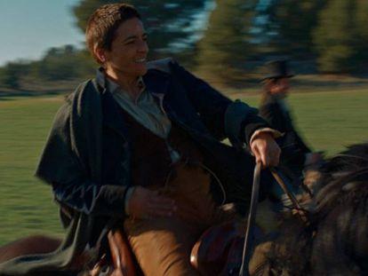 Bebe cabalga en la nueva serie de Enrique Urbizu, 'Libertad'.