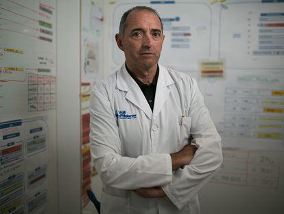 Albert Salazar, gerente del hospital Vall d'Hebron de Barcelona.
