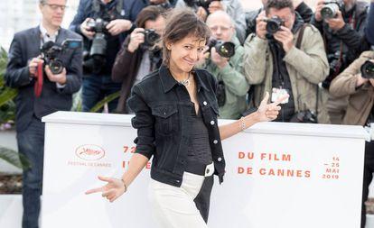 La directora Mati Diop, en la presentación de su película en Cannes.