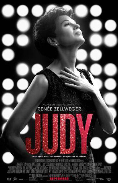 Cartel de 'Judy', protagonizada por Renée Zellweger.