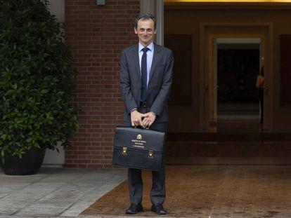 El ministro de Ciencia, Universidades e Innovación, Pedro Duque, en una imagen de archivo.