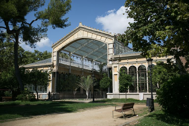 El Hivernacle del parque de la Ciutadella, uno de los edificios del recinto pendientes de reforma.