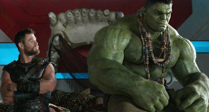 Fotograma de 'Thor: Ragnarok', el último estreno de Disney.