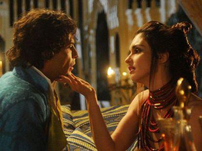 Marco Bocci y Paz Vega en la miniserie basada en 'Las mil y una noches'