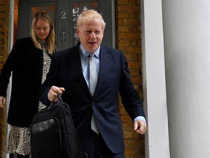Boris Johnson, este miércoles, en Londres. En vídeo, declaraciones de Boris Johnson este miércoles.