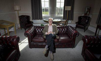 El investigador Neil Mercer en el Hughes Hall college de Cambridge.
