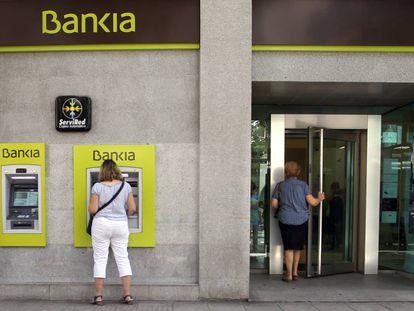 Una oficina de Bankia, en una imagen de archivo.