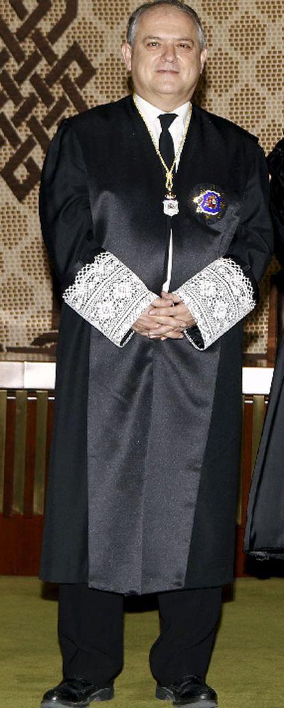 El magistrado Luis Ortega.