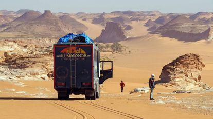 El norte de Chad en camión.