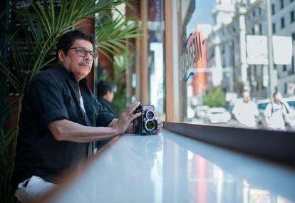 El fotógrafo Luis Baylon, el miércoles en Madrid.