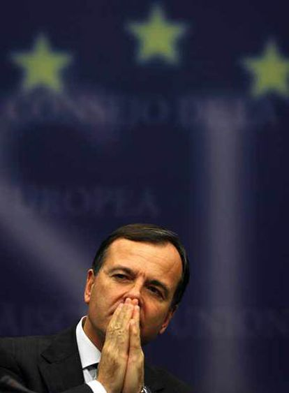 El comisario europeo de Interior y Justicia, Franco Frattini.