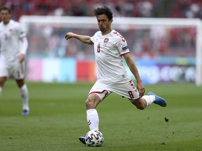 Delaney, en la Eurocopa con Dinamarca.