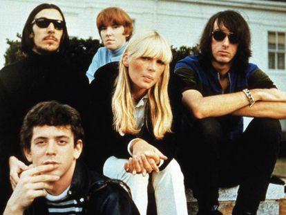 El grupo de rock The Velvet Underground, a finales de los sesenta.