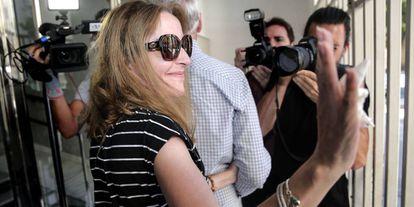 María José Carrascosa, la abogada española que pasó ocho años en prisión en Nueva Jersey (Estados Unidos) tras una controversia judicial con su exmarido a cuenta de la custodia de su hija.