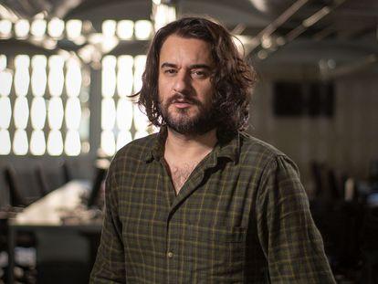 El periodista de EL PAÍS Manuel Jabois, en la redacción del diario.