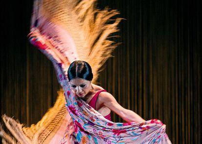 La bailaora Olga Pericet, en una actuación en 2013.