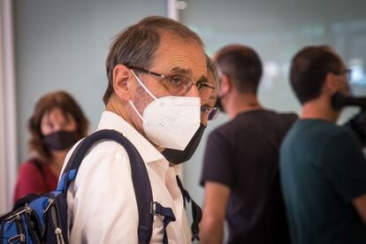 Jose Antonio Urrutikoetxea Bengoechea, Josu Ternera, during his trial in Paris this week